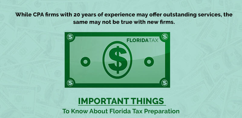Important Things to Know About Florida Tax Preparation for 2019