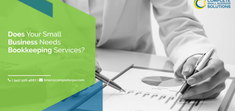 Does Your Small Business Needs Bookkeeping Services?
